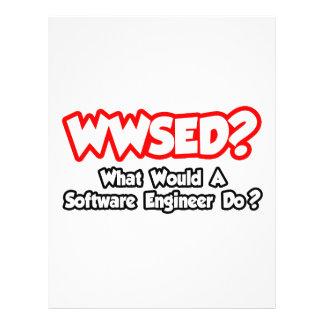 ¿WWSED… qué una Software Engineer haría? Flyer Personalizado