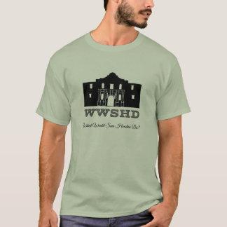 WWSHD - Qué Sam Houston haría Playera
