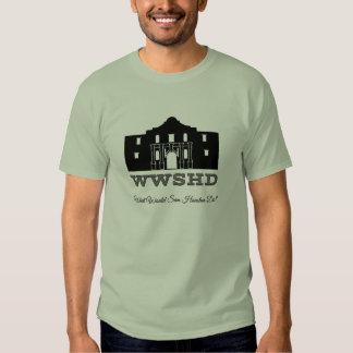 WWSHD - Qué Sam Houston haría Playeras