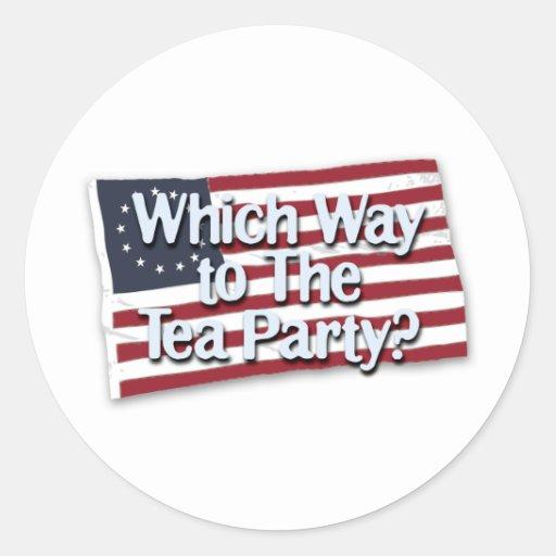 wwt_the_tea_party_t pegatina redonda