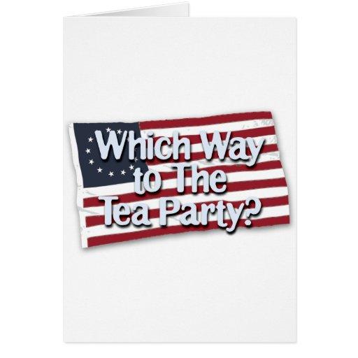 wwt_the_tea_party_t tarjeta de felicitación