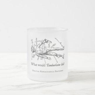 WWTD? FROSTED GLASS COFFEE MUG