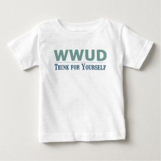 WWUD -- Piense para sí mismo Tshirt