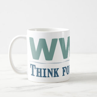 WWUD -- Think for Yourself Classic White Coffee Mug