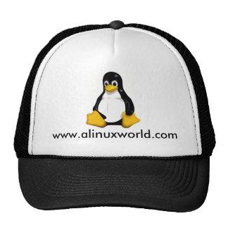 www.alinuxworld.com trucker hat