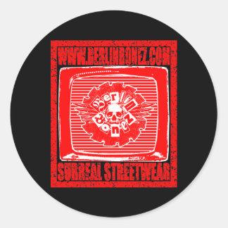 WWW.BERLINBONEZ.COM ROUND STICKER