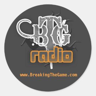 www.BreakingTheGame.com sticker