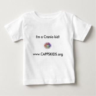 ¡www.CAPPSKIDS.org, soy un niño de Cranio! Playera