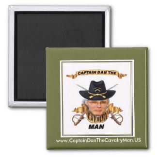 www.CaptainDanTheCavalryMan.US Fridge Magnets