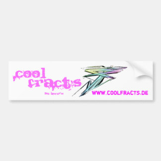 www.coolfracts.de, Genial, Fract ` s, by… Pegatina Para Auto