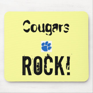 www.CougarInternational.com Cougar/Cub Clothing Mouse Pad