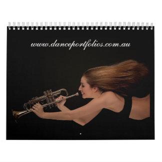 www.danceportfolios.com.au wall calendar