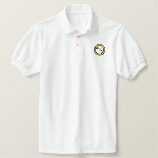 WWW Embroidered Logo Polo Mens