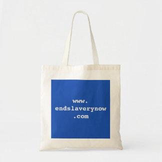 www.endslaverynow.com canvas bags