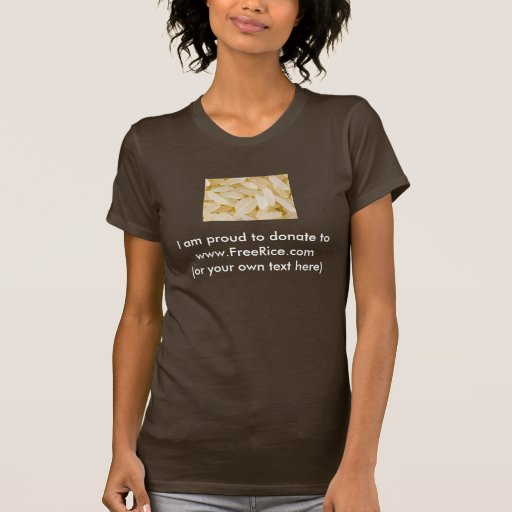 www.FreeRice.com Tee Shirts