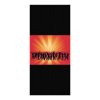 www_Garcya_us_dancing disco people vector Rack Card