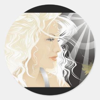 www.Garcya.us_Girls-80 Classic Round Sticker