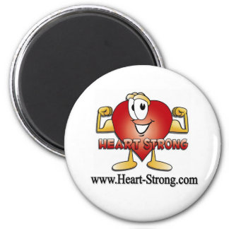 www.Heart-Strong.com 2 Inch Round Magnet