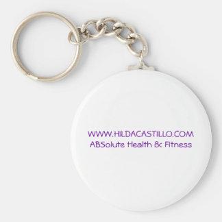 www.hildacastillo.com keychain