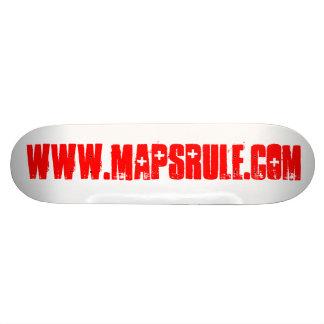 www mapsrule com skateboard