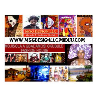 WWW.MGGDESIGNLLC.MIIDUU.COM @MOJISOLA A GBADAMOSI POSTCARD