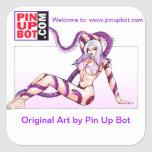 www.pinupbot.com Stickers