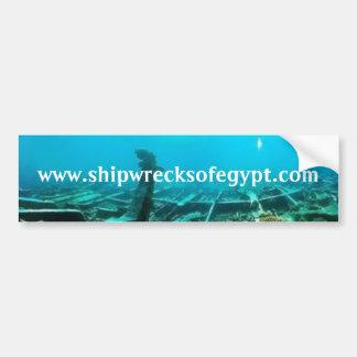 www.shipwrecksofegypt.com bumper sticker