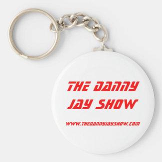 www.thedannyjayshow.com, la demostración de Danny  Llavero Redondo Tipo Pin