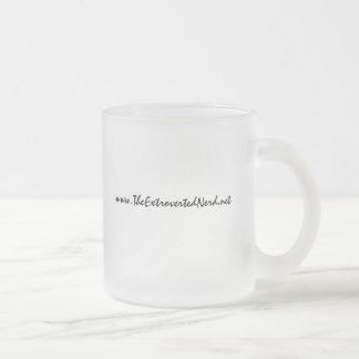 www.TheExtrovertedNerd.net - Frosted Coffee Mug