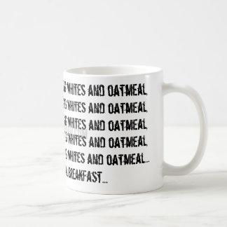 www.tiffanyforni.com, Egg whites and oatmeal, e... Coffee Mug