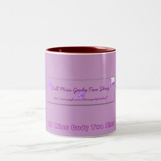 www.zazzle.com/lillmissgudytwoshuz* Two-Tone coffee mug