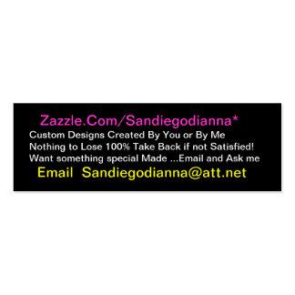 www Zazzle Com Sandiegodianna Nothing to Lose Business Card Template