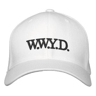 WWYD - Hat Embroidered Baseball Cap