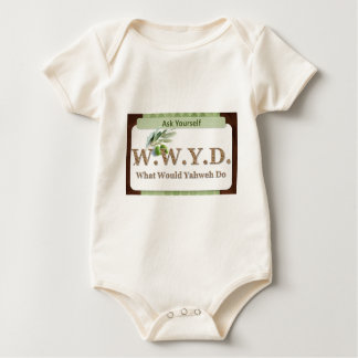WWYD - Olive Branch - Green and Brown Bodysuit