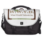 WWYD - Olive Branch - Green and Brown Laptop Bags
