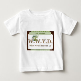WWYD - Olive Branch - Green and Brown Tee Shirt