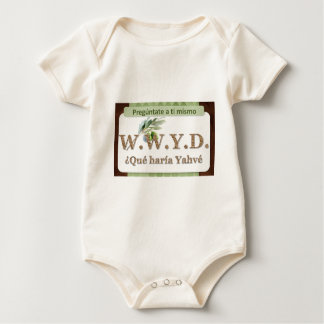 WWYD - ¿Qué haría Yahvé Baby Bodysuit