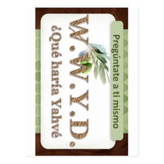 WWYD - ¿Qué haría Yahvé Postcard