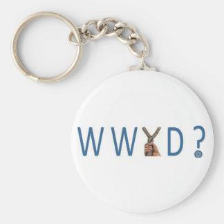 ¿WWYD?  ¿Qué Yeshua haría? Llavero