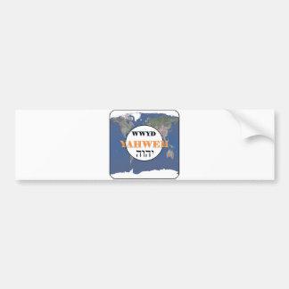 WWYD - Yahweh in the World Bumper Sticker