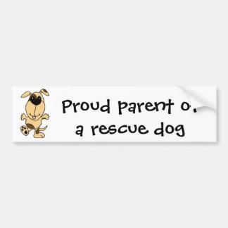 WX- Dancing Puppy Dog Cartoon Car Bumper Sticker