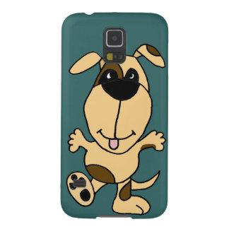 WX- dibujo animado del perro de perrito del baile Carcasa Para Galaxy S5