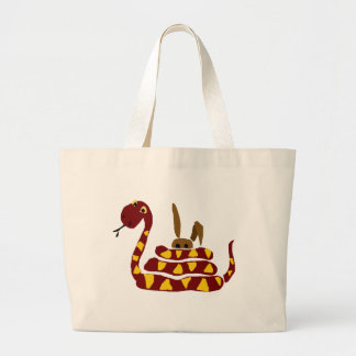 WX- serpiente divertida que exprime el dibujo anim Bolsas De Mano