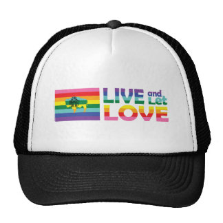 WY Live Let Love Mesh Hats