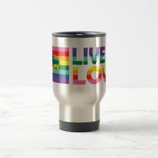 WY Live Let Love Travel Mug