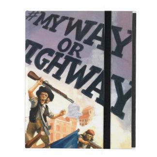 Wy way or highway iPad case