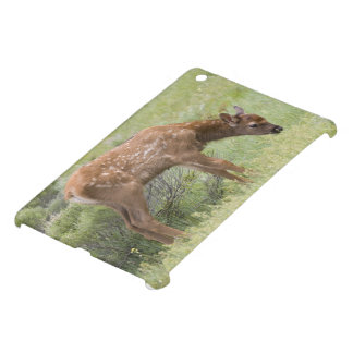 WY, Yellowstone National Park, Elk calf in iPad Mini Cover