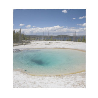 WY, Yellowstone National Park, West Thumb Geyser Notepad
