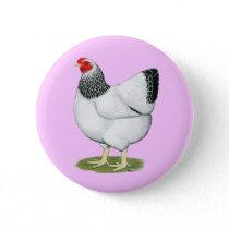 Wyandotte:  Columbian Hen Pinback Button