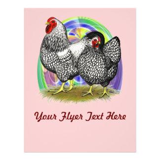 Wyandotte:  Easter Egg Pair Full Color Flyer